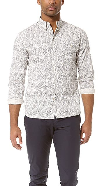 Paul Smith Jeans Tailored Woven Sport Shirt
