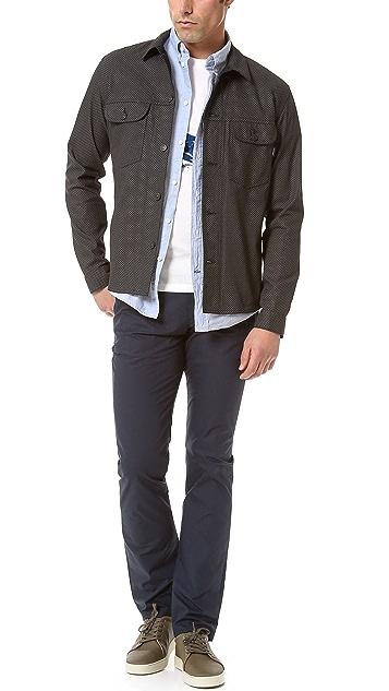 Paul Smith Jeans Short Sleeve Sport Shirt