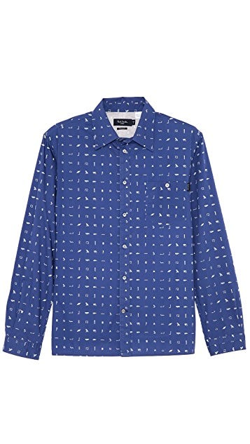 Paul Smith Jeans Long Sleeve Sport Shirt
