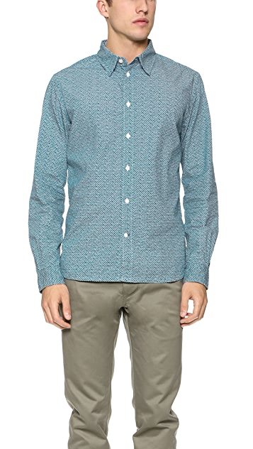 Paul Smith Jeans Triangle Print Shirt