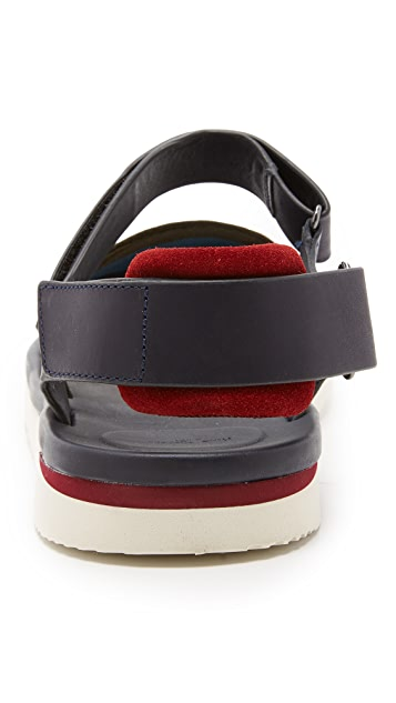 Paul Smith Jeans Bowler Sandals