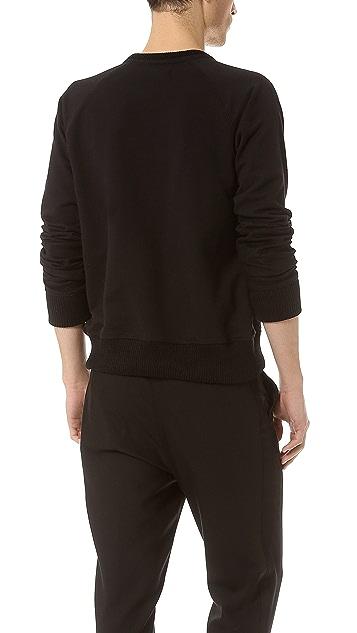 Public School Pieced Sleeve Sweatshirt