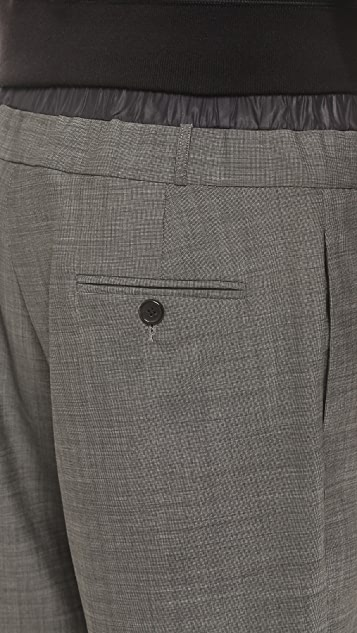 Public School Wool Shorts