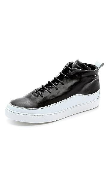Public School Public School x The Generic Man Leather Sneakers