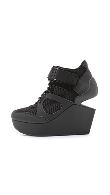 PUMA McQ Leap Lo Wedge Sneakers
