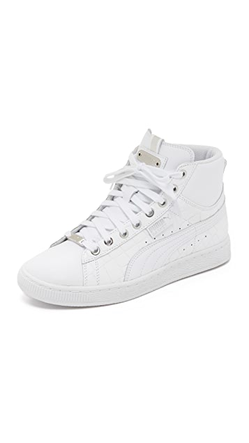 PUMA Basket Mid Exotic Sneakers