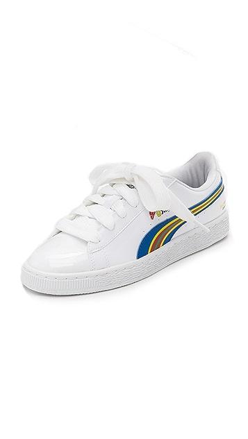 PUMA PUMA x Dee & Ricky Basket BW Sneakers ...