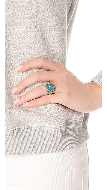 push BY PUSHMATAaHA Octagonal Monarch Ring