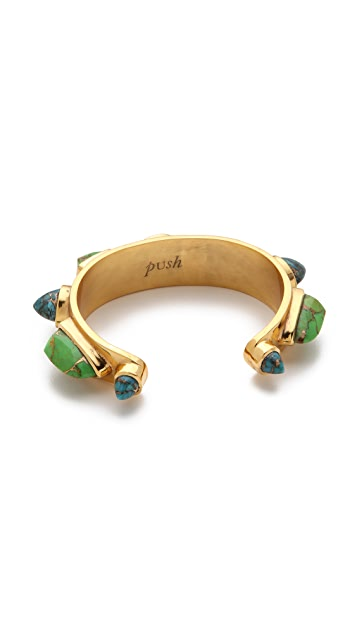 push BY PUSHMATAaHA Slim Stoned Cuff