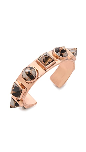 push BY PUSHMATAaHA Nubian Cuff Bracelet