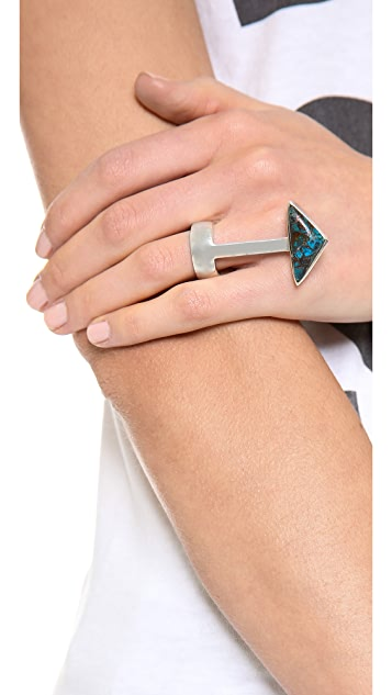 push BY PUSHMATAaHA Running Arrow Ring