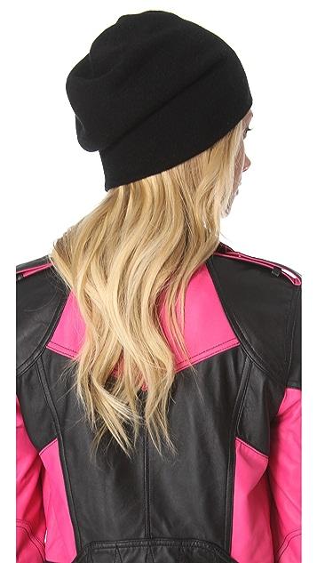QUINN Bedella Cashmere Reversible Hat