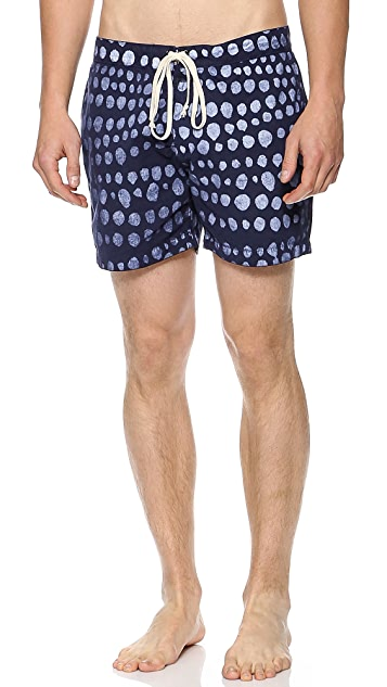 Quality Peoples Folka Dots Board Shorts