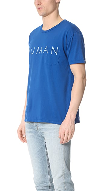 Quality Peoples Human Pocket Tee