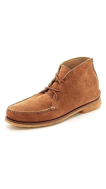 Quoddy Wabanaki Crepe Sole Boots