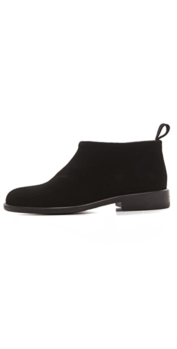 Rachel Comey Apollo Pull On Suede Booties