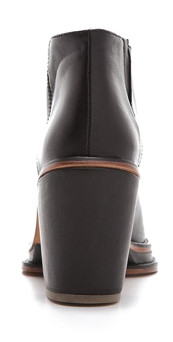 Rachel Comey Bout Chunky Heel Pull On Booties