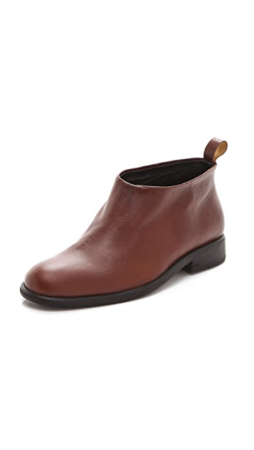 Rachel Comey Apollo Pull On Leather Booties