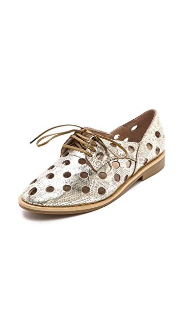 Rachel Comey Acker Perforated Oxfords