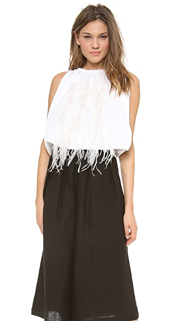 Rachel Comey Antic Feather Top