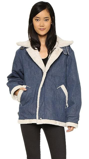 Rachel Comey Vivilant Shearling Coat
