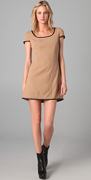 Rachel Zoe Cap Sleeve Dress