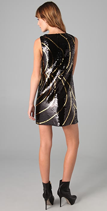 Rachel Zoe Peggy Sequin Shift Dress