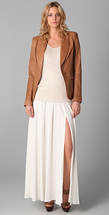 Rachel Zoe Sullivan Leather Jacket