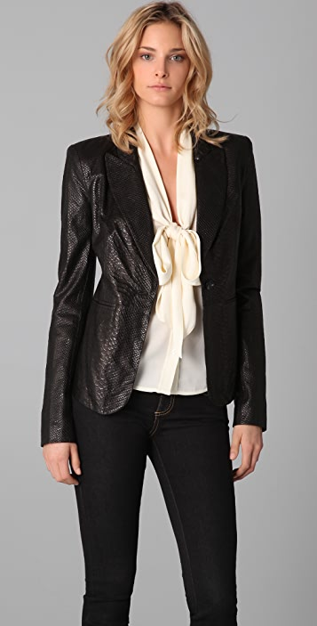 Rachel Zoe Sullivan Leather Jacket