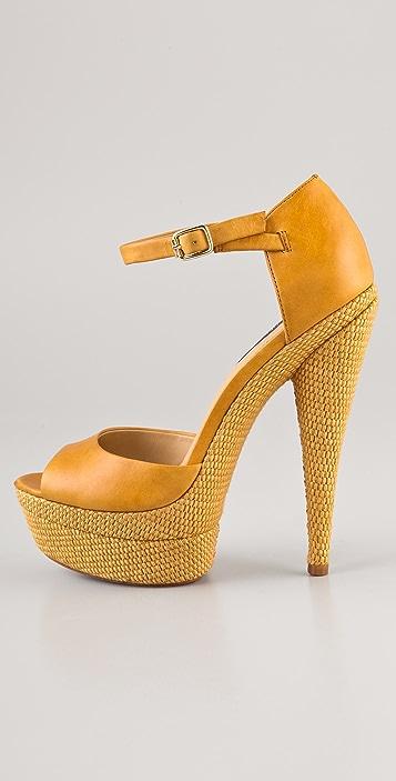 Rachel Zoe Bardot Platform Sandals