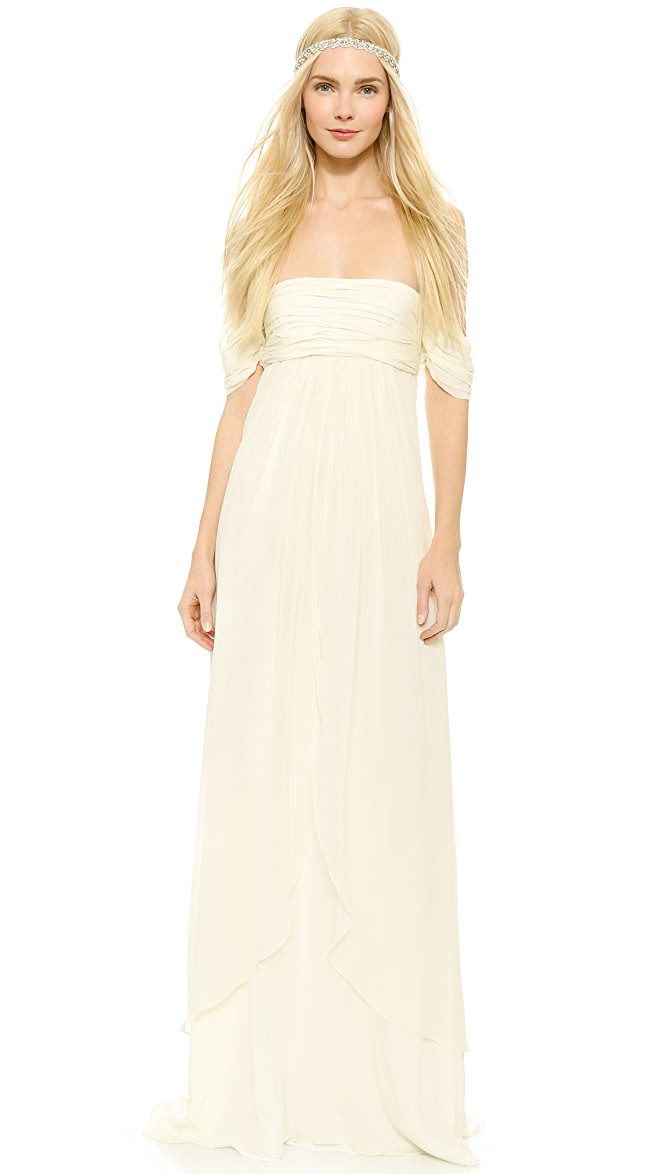 9d1d65b865f Rachel Zoe Elle Empire Petal Gown