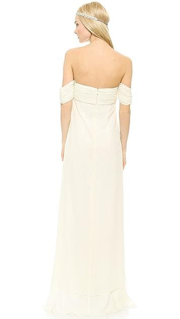 Rachel Zoe Elle Empire Petal Gown