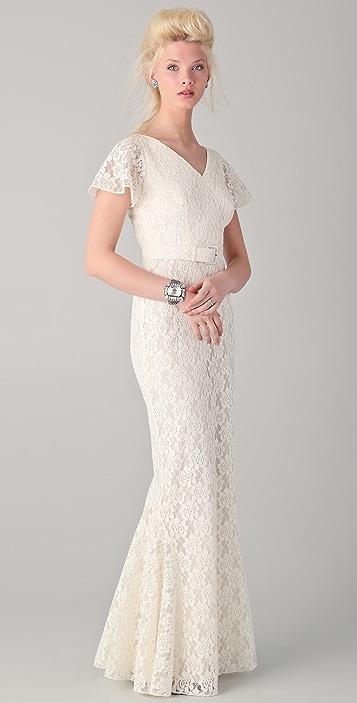 Rachel Zoe Amelie Godet Gown