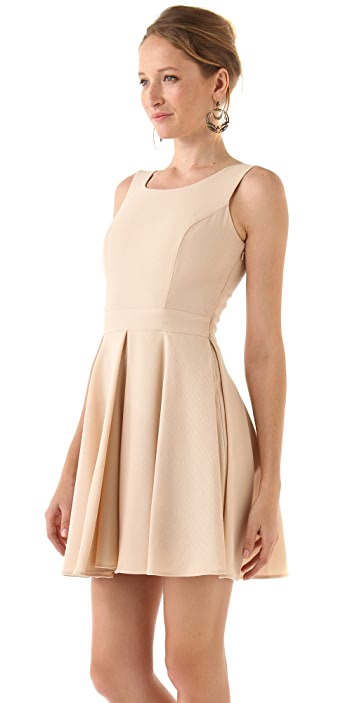Rachel Zoe Mimi Inverted Pleat Dress