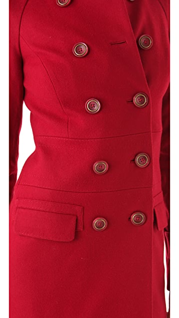 Rachel Zoe Farrah Raglan Coat