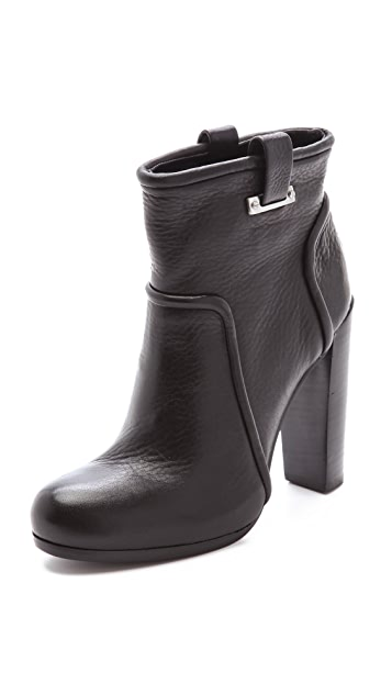 Rachel Zoe Charlie High Heel Bootie with Buckle detailing