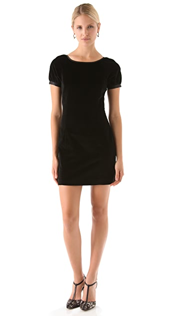 Rachel Zoe Courtney Lace Back Raglan Dress