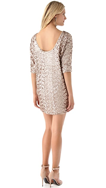 Rachel Zoe Tinsley Sequin Dolman Dress