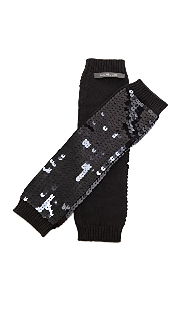 Rachel Zoe Sequin Arm Warmers