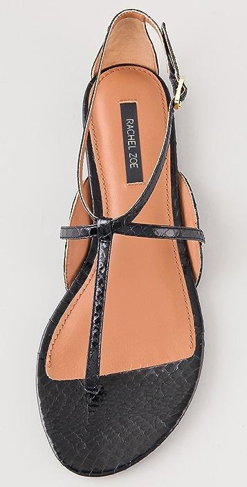 Rachel Zoe Gwen Flat Sandals