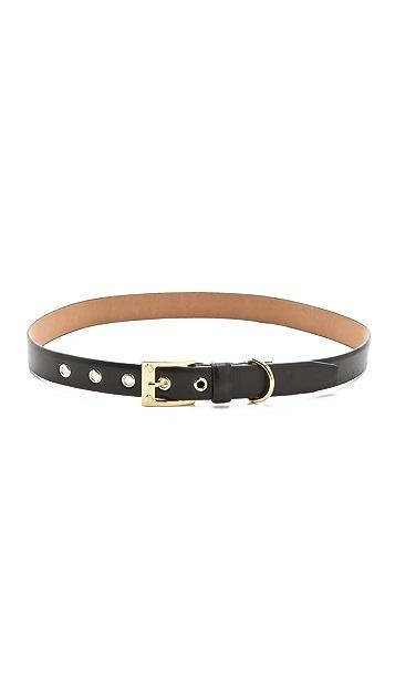 Rachel Zoe Thin Belt with Screw Buckle