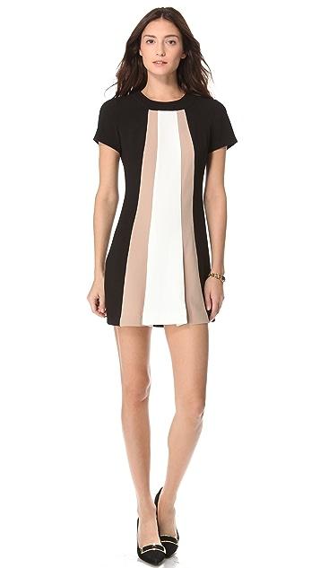Rachel Zoe Andie Colorblock Shift Dress