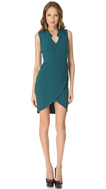 Rachel Zoe Annabel Surplice Sheath Dress