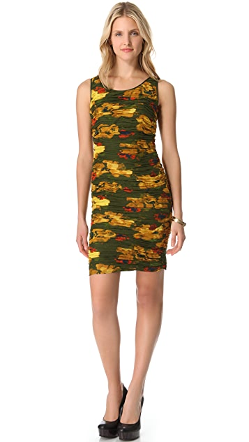 Rachel Zoe Maddy Ruched Zipper Dress