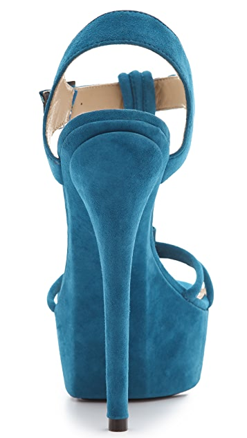 Rachel Zoe Valerie Suede Platform Sandals