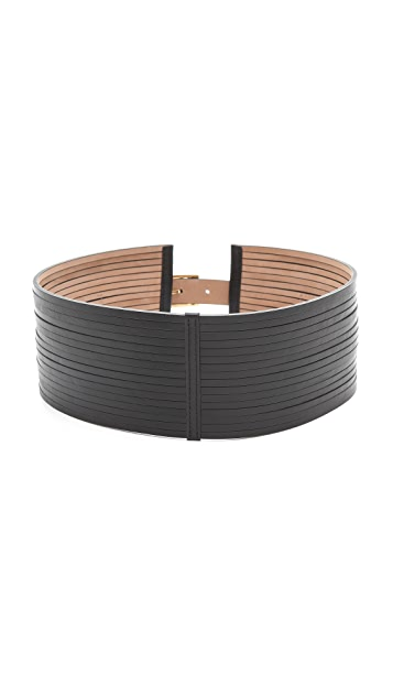 Rachel Zoe Cord Leather Belt