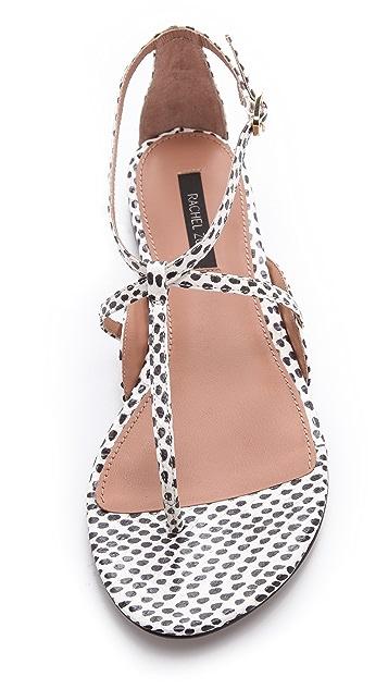 Rachel Zoe Gwen Snakeskin Sandals