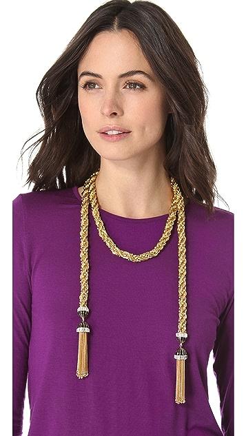 Rachel Zoe Long Tassel Necklace