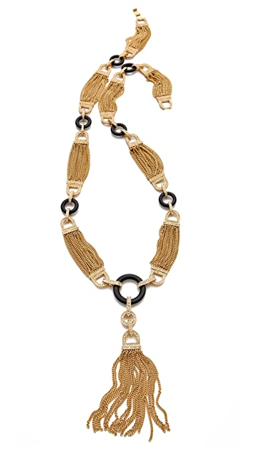 Rachel Zoe Tassel Necklace