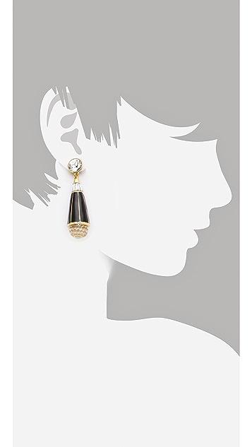 Rachel Zoe Teardrop Earrings